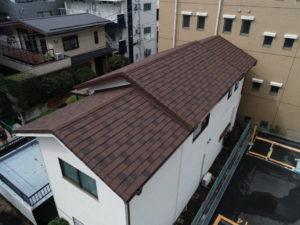 町田市森野・屋根葺き替え・カバー工法・外壁改修塗装工事