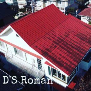 町田市三輪緑山 M様邸 屋根カバー工法(ローマン)・外壁塗装・破風板金・雨樋交換