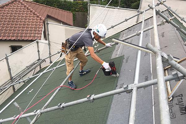 スレート改修カバー工法