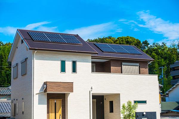 エコな暮らしを実現「太陽光発電システム」