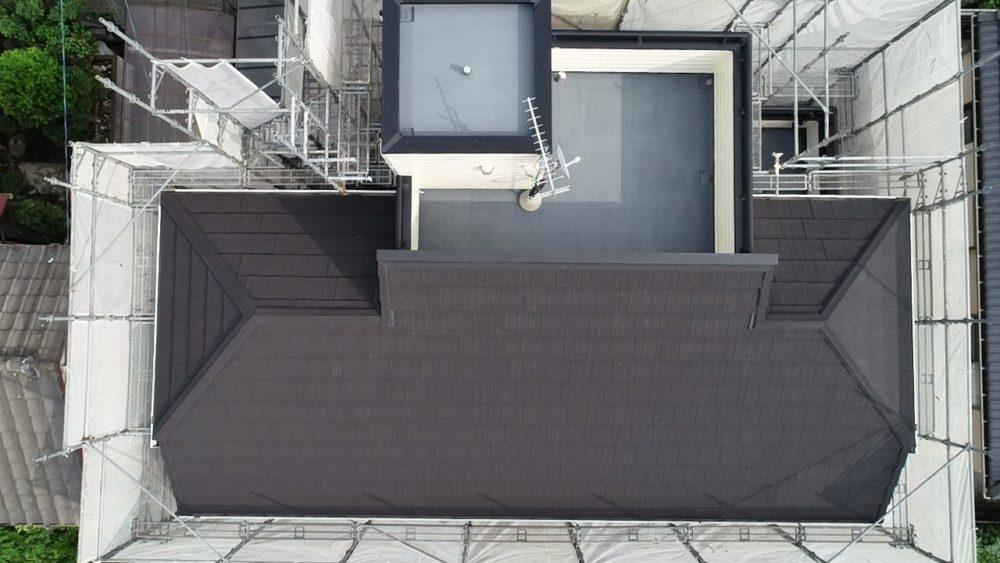 八王子市狭間町 I様邸 外壁塗装・屋根カバー工法・エコグラーニ
