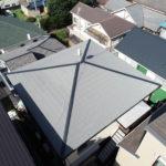 多摩市聖ヶ丘 外壁塗装・屋根カバー工法・雨樋交換