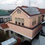 町田市高ヶ坂W様邸 外壁塗装・屋根カバー工法・太陽光脱着工事・ウッドデッキ塗装