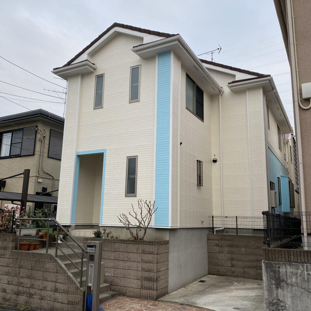 町田市成瀬Y様邸 屋根カバー工法・外壁塗装