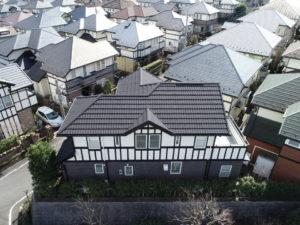 町田市金井 T様邸 屋根葺き替え工事・一部塗装