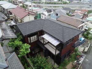 八王子市横川町N様邸 屋根カバー工法(ディプロマットスター)・外壁塗装(パーフェクトトップ)