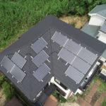 町田市O様邸 屋根カバー工法・太陽光キャッチ工法