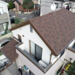 町田市S様邸 屋根カバー工法・外壁塗装
