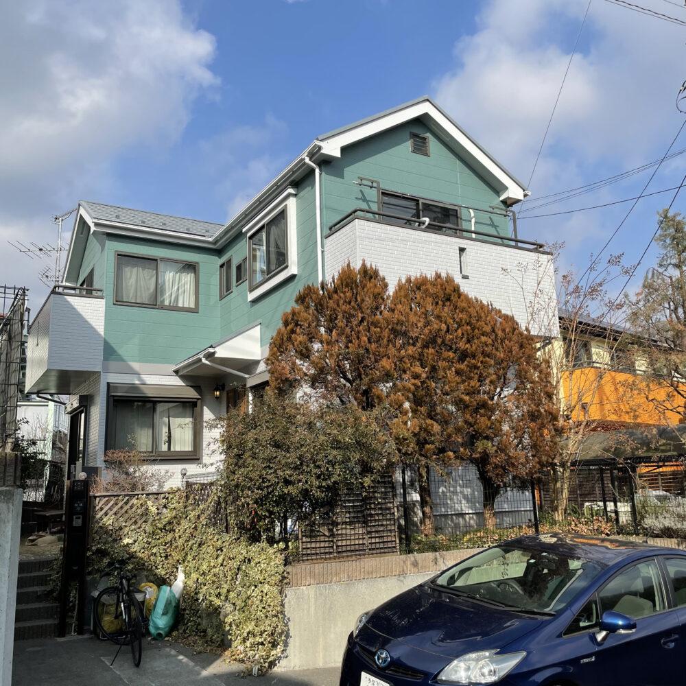 町田市相原町S様邸 屋根・外壁塗装 ベランダ修理