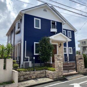 横浜市N様邸 屋根・外壁塗装 内装リノベーション・ウッドデッキ・オーニング